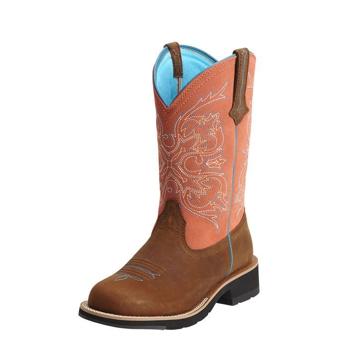 1000  images about orange cowboy boots on Pinterest | For women ...