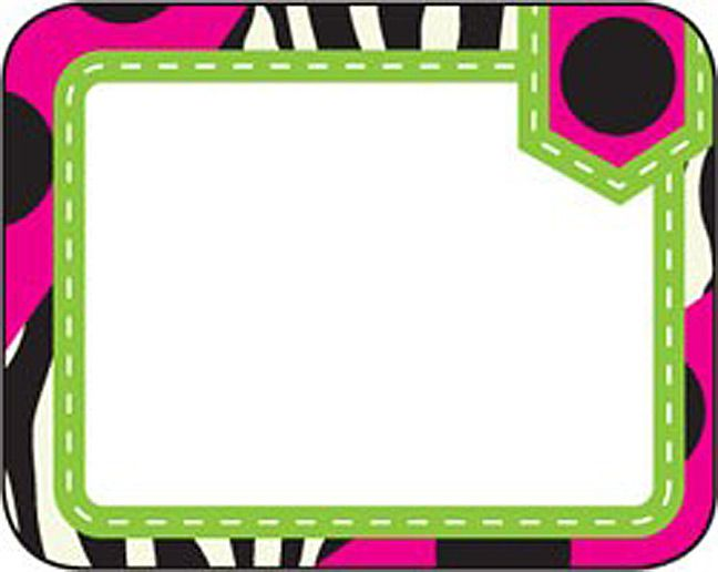 Zebra Labels (TCR70124) « Products | Teacher Created Resources                                                                                                                                                                                 More