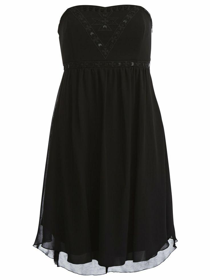TENNY CORSAGE DRESS #vilaclothes #vila #dress #summer #black