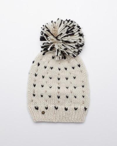 tricot : bonnet_coeurs