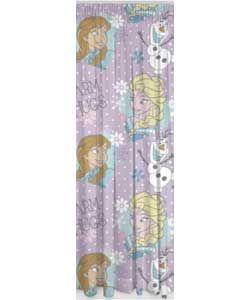 Disney Frozen Unlined Curtains - 168 x 137cm - Multicoloured