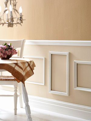 Picture frame molding.