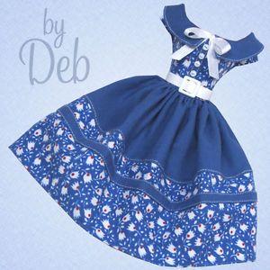 Vintage Barbie Dolls | ... Voted - Vintage Barbie Doll Dress Reproduction Barbie Clothes Fashion