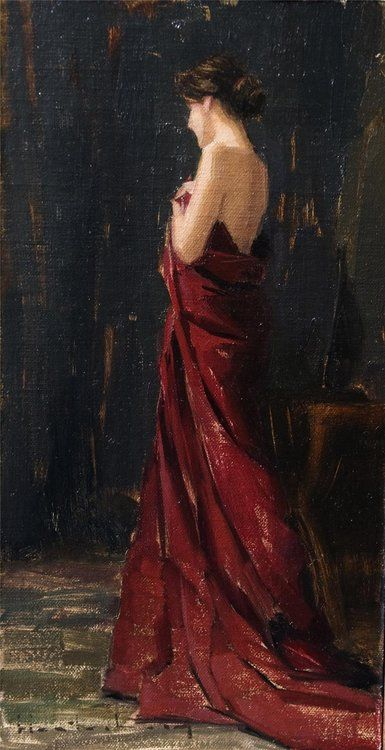 colourthysoul:  Aaron Allen Westerberg - Rapture in Red