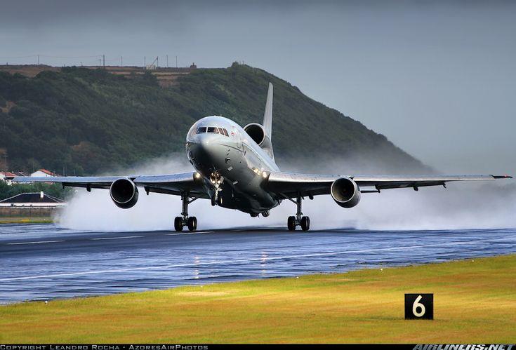 Lockheed L-1011 TriStar operated by the RAF.