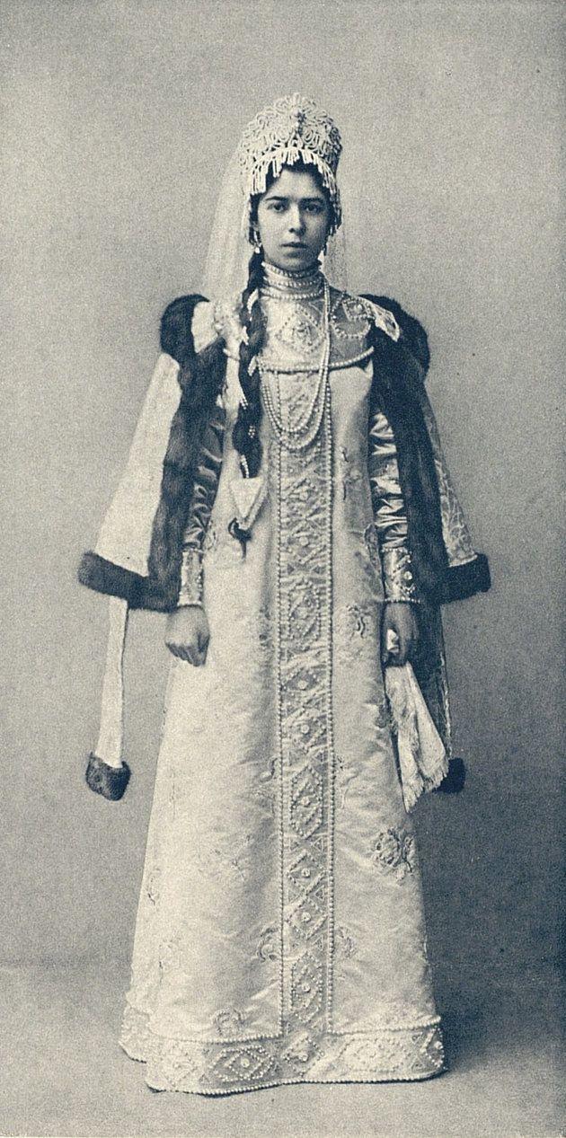 Princess Sophie Wassiltchikow,  Demoiselle d'honneur de Leurs Majestes les Imperatrices  (Jeune fille boyard du XVII siecle) image 158 by klimbims on deviantART