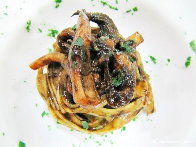 Pasta al nero di seppia   Gastronomy Love