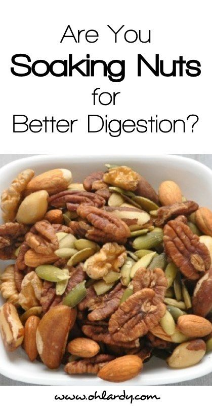 By soaking and drying nuts before you eat them, you will neutralize enzyme inhibitors, making them more digestible! Check out our easy tutorial.
