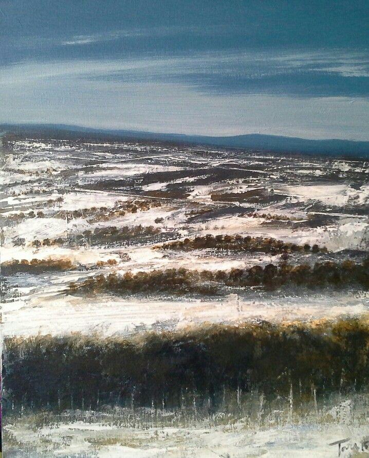 Inverno 50x70 cm Luigi Torre painter 2015
