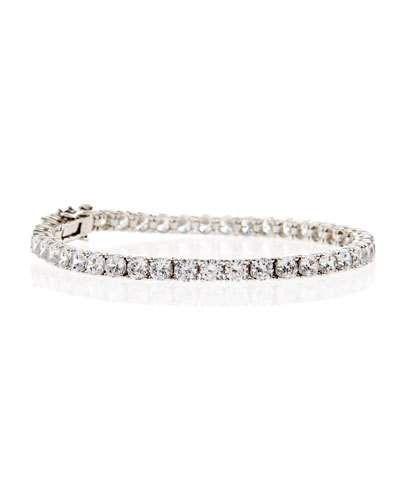 Fantasia CZ Crystal Tennis Bracelet L3JLaLWMOk