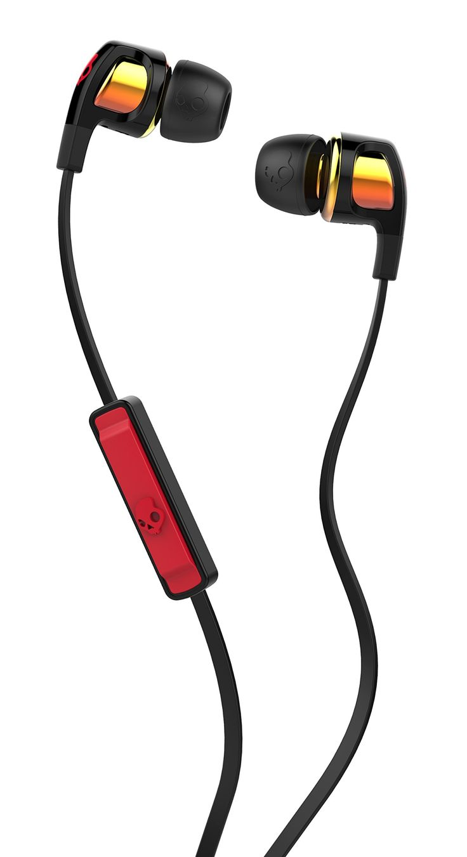 Skullcandy Smokin Bud 2 Spaced Out/Orange Iridium In-ear Headphones with In-line Mic (S2PGGY-392)