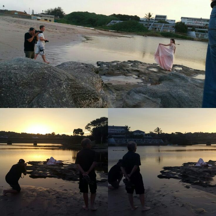 Had such a wonderful sunset model shoot with d some wonderful photographers. #olympus #photographers.