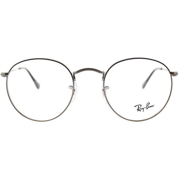 b9ff23e93e Ray-Ban RX 3447V 2620 Matte Gunmetal Clubmaster Metal Eyeglasses-50mm  ( 160) ❤ liked on Polyvore featuring accessories