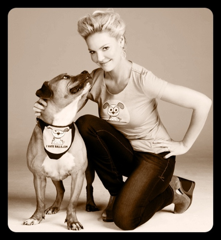 Katherine Heigl on how she loves her pooch.
