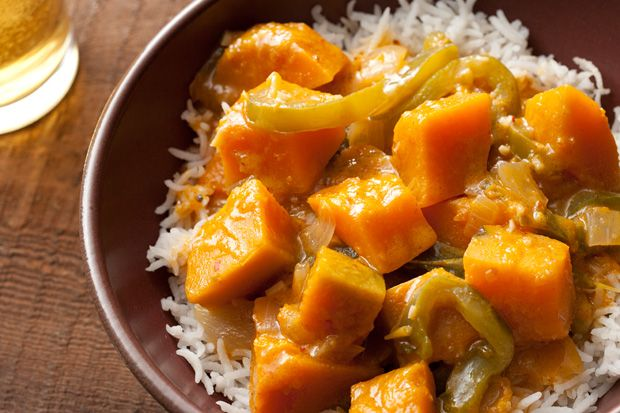 Thai Red Curry with Kabocha Squashhttp://www.chow.com/recipes/30268-thai-red-curry-with-kabocha-squash