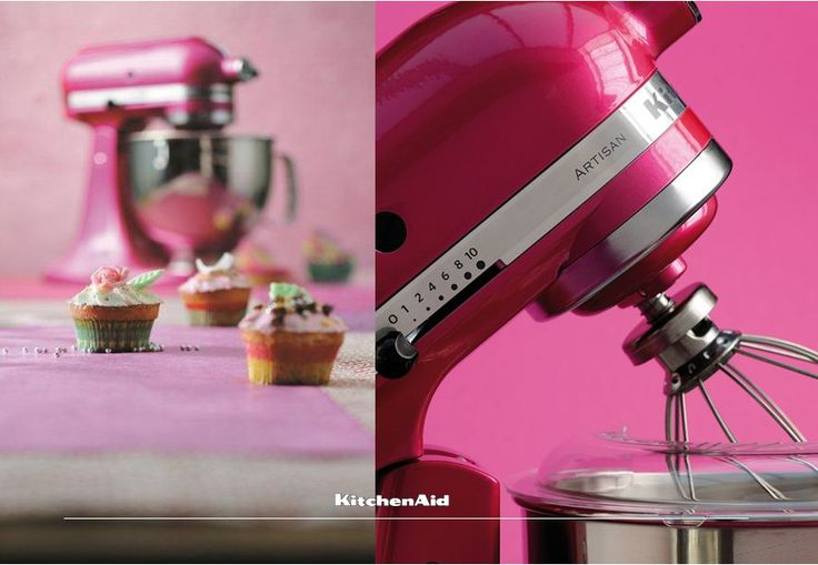 Cupcakes and mini cakes look just beautiful, taste great and are fun to make with our Raspberry Ice Artisan Stand Mixer! Much love KitchenAid Kenya xx #KitchenAidAfrica