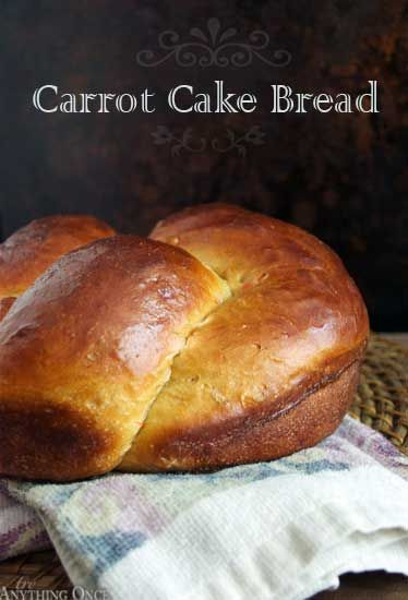Carrot Cake Bread - A delicate essence of carrot bread with cinnamon and a hint of nutmeg, ideal for stuffed French toast.