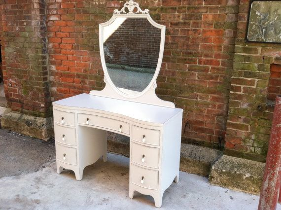 vintage vanity desk with mirror. Paris Apartment French Grey Painted Vintage Vanity Desk and Mirror  could use as a vanity 231 best images on Pinterest tables