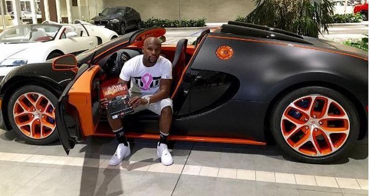 La Bugatti de Floyd Mayweather à vendre sur Ebay 3,7 millions d'euros