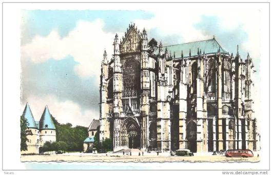 France, Picardie, Oise, Beauvais, la cathédrale - Delcampe.net