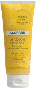 Klorane Gel Douche Surgras Nectar d'été au parfum exotique pour vous évader dans les îles.  http://www.pharmacie-sante.com/klorane-gel-douche-surgras-nectar-d-ete-200ml.html