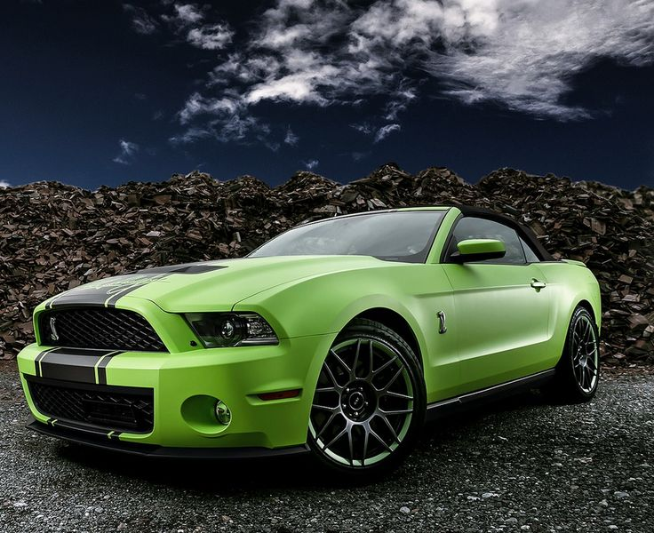 Toxic green Mustang. dream car but only for a little while & Best 25+ Green mustang ideas on Pinterest | Ford mustang classic ... markmcfarlin.com