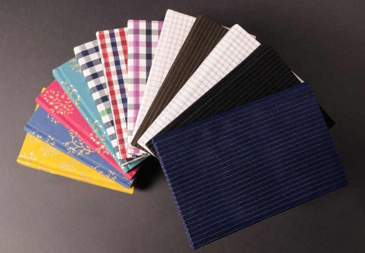 Notebooks of all Sizes, Colors and Designs...