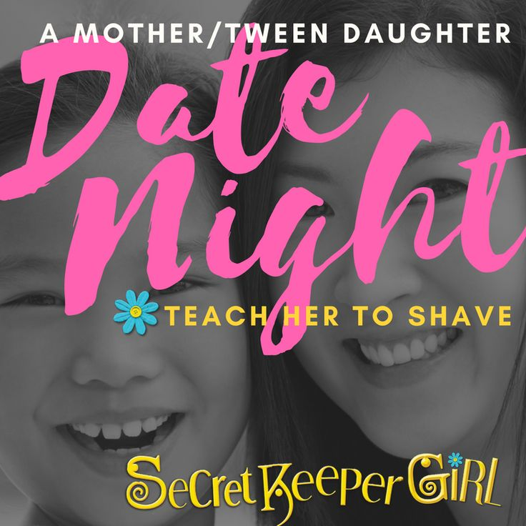 "By Dannah Gresh, Creator of Secret Keeper Girl  Well, shaving can be a ""hairy"" topic for moms and their girls. When is the right time to allow her to start shaving? Is she ready? Well, let's start with remembering your first shave! A national survey of women on posed this question: ""The first time"
