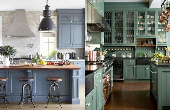 18 Best Images About Blue Chalk Paint Cupboards On Pinterest Islands Chelsea Gray And Painted