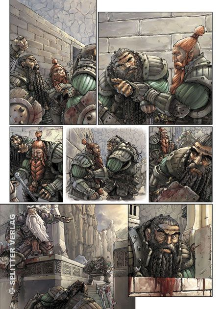Die Zwerge ('The Dwarves') comic page 2 colored by che-rigas.deviantart.com on @deviantART