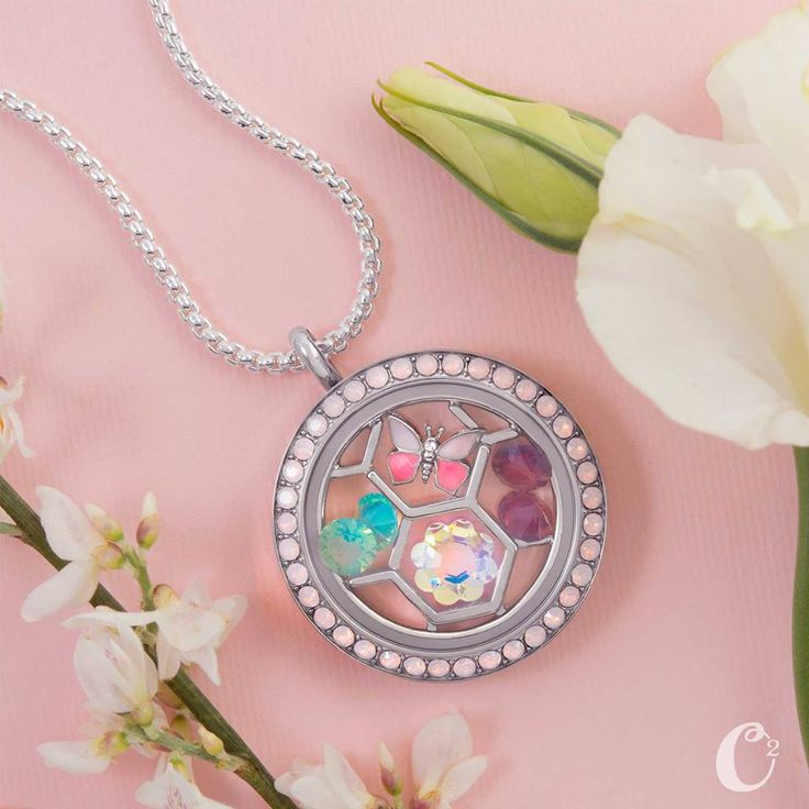 Charm Catcher Plate for Origami Owl Living Lockets available at StoriedCharms.com