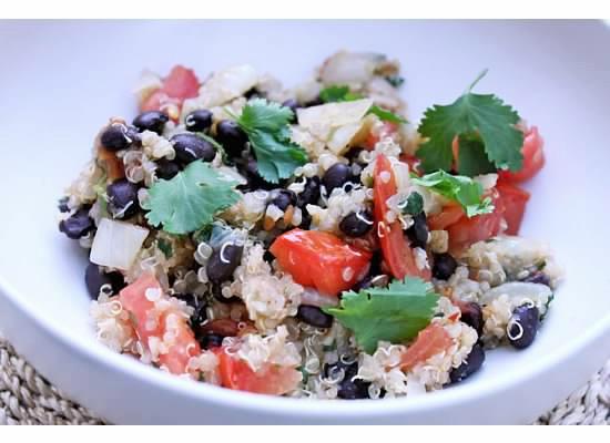 Quinoa_black beans
