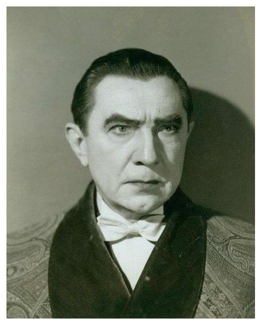 """Béla Lugosi en """"Abbott and Costello Meet Frankenstein"""", 1948."""