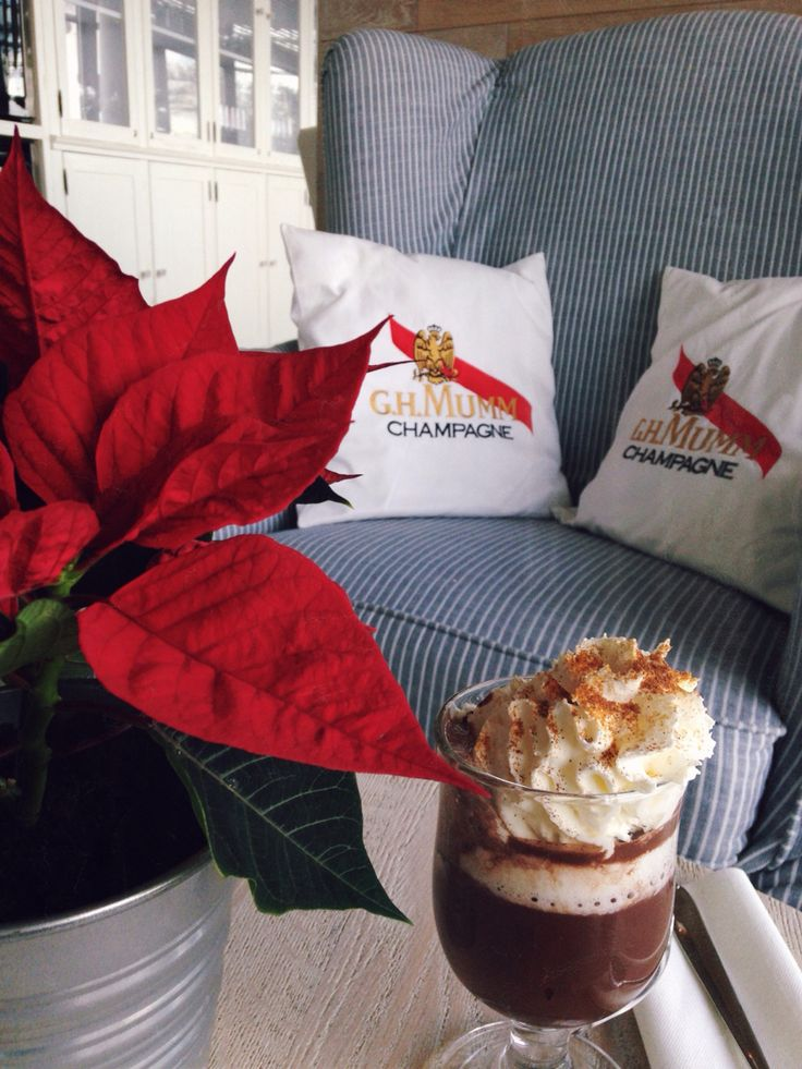 Winter is coming...  Hot chocolate with chili and cinnamon @ Dune Restaurant Cafe Lounge