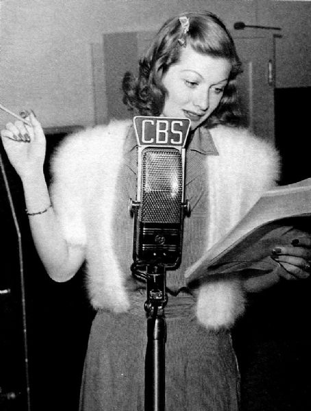 Lucille Ball  voice over for CBS