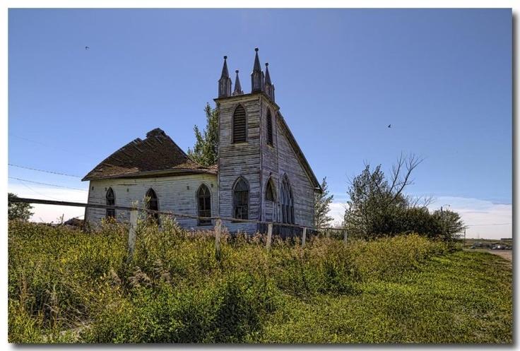In ruins - Saskatchewan, Canada