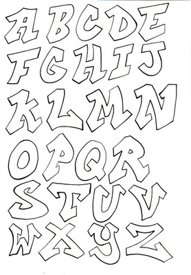 Graffiti font which could be used