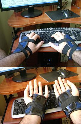 I'm there! need it (ouch) Repetitive Strain Injury How to avoid carpal tunnel syndrome read on... source ~Wikipedia