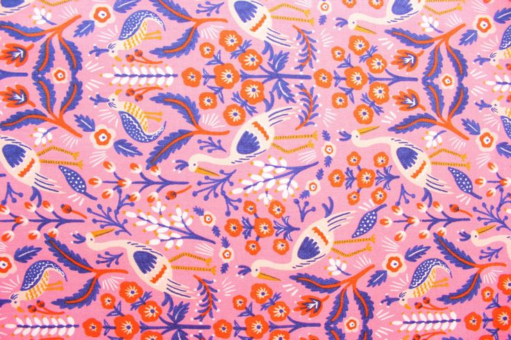 Rifle Paper Co, Les Fleurs, Tapestry Rose,RJR fabric, Cotton Steel, Pink, Cotton Fabric, Premium Fabric, Half Metre by TwoChubbyRabbits on Etsy