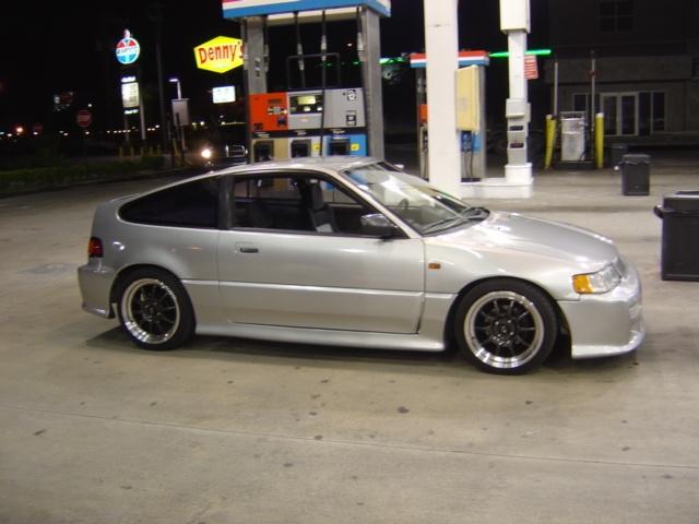 88' Honda CRX ~ This one is smokin'.