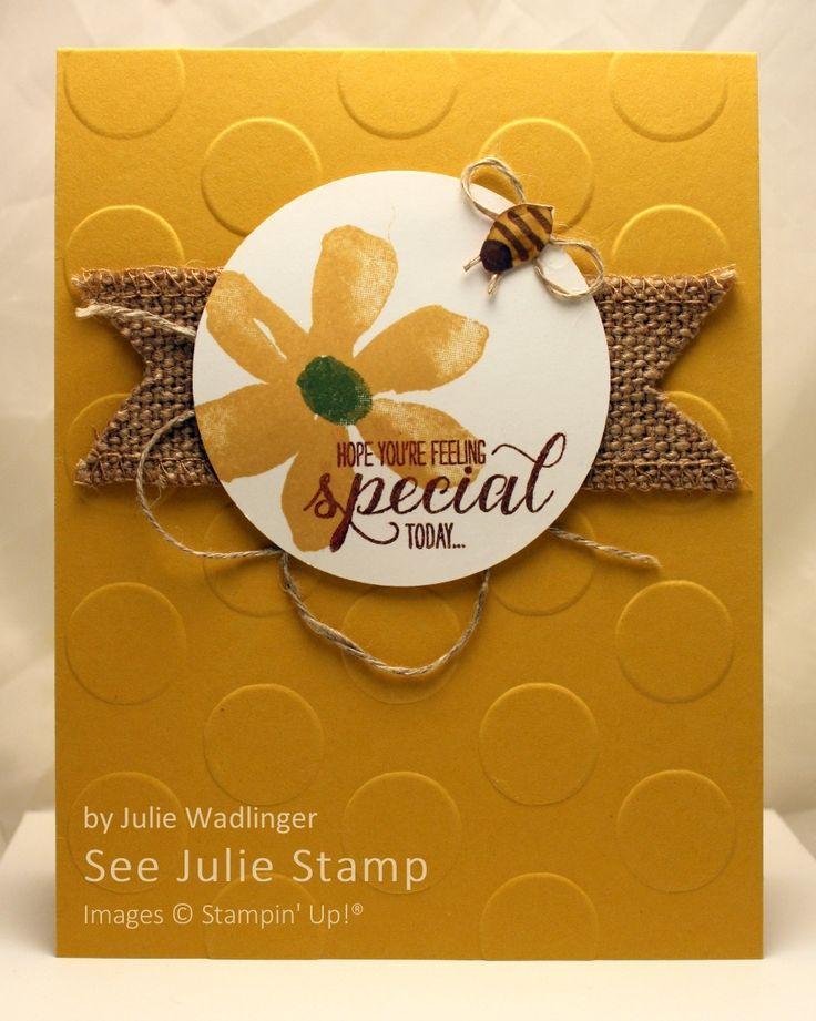 See Julie Stamp - Julie Wadlinger, Stampin' Up! Demonstrator : Blog Hop: Summer!