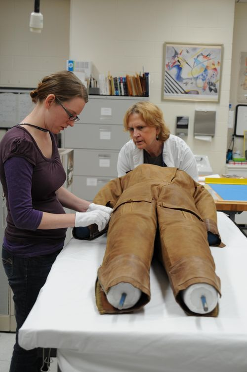 Marvelous The Conservation Of Amelia Earhartu0027s Flight Suit, A Blog Article With Many  Photos By Manda