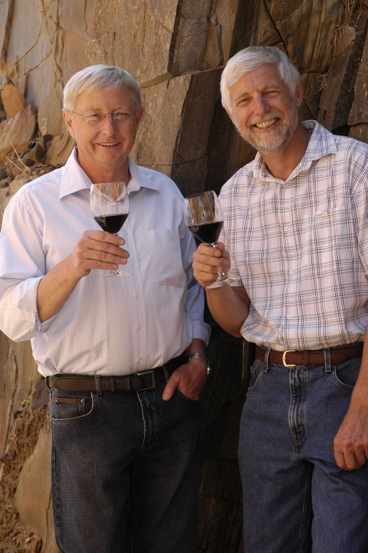 GR - named after Geoff (left) and Robert, fifth generation directors/winemakers for Bethany Wines.