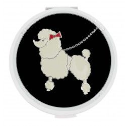 Lulu Guinness Poodle Dual Mirror #Jewellery #Accessories #scarf