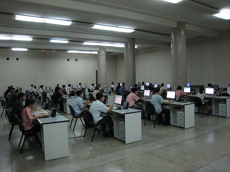 WIRED   北朝鮮の「電子閲覧室」(動画と画像)
