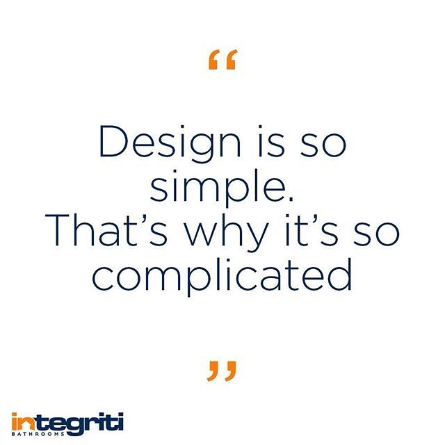 The simplest designs are the hardest, but also the most rewarding. There is nothing quite like finding a really elegant solution to a design problem. #mondaymotivation #design #bathroomdesign #designer #inspiration #bathroom #interiordesign #architect #renovations #home #sydneybathroomrenovations