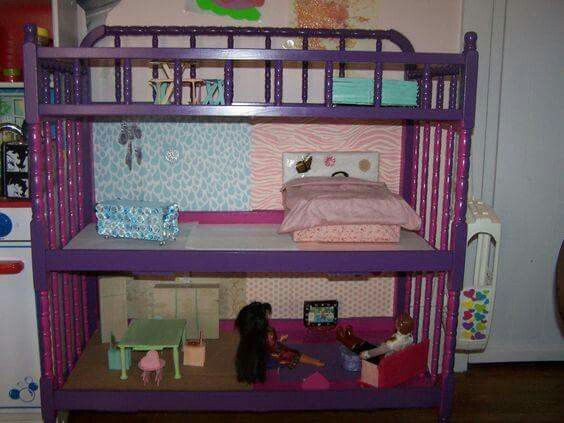 Changing Table Dollhouse