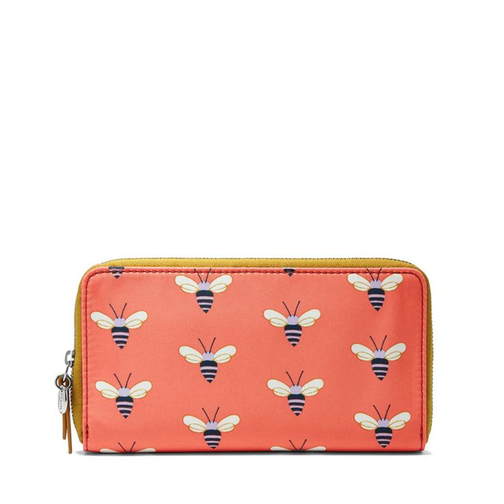 BEE MINE!  #Fossil Key-Per Zip Clutch