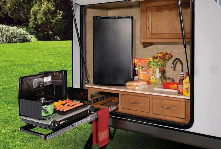 Apex Outdoor Kitchen Motorhome Rv Kitchen Remodel