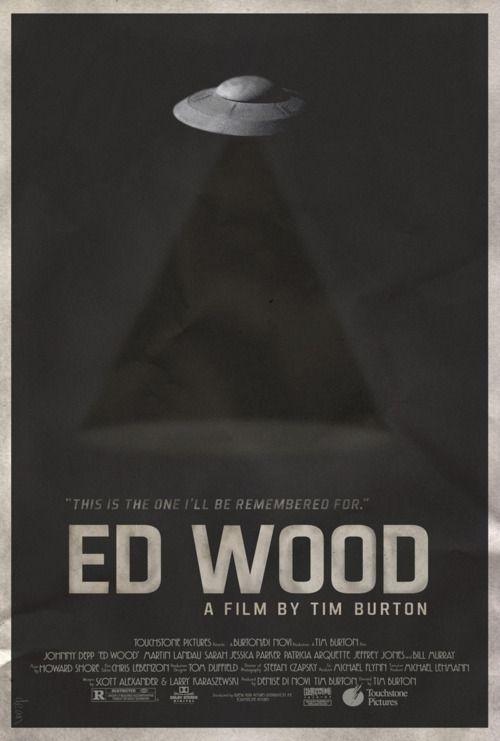 Ed Wood Mimimal poster design